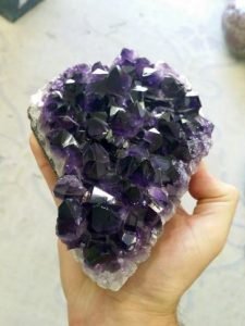 Amethyst Cluster - Crystal Clearing, Cleansing, Charging, Activating & Dedicating