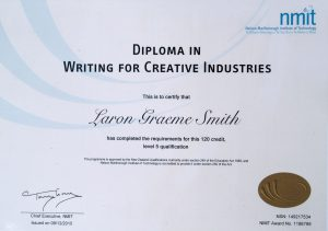 Diploma in Writing for Creative Industries - NMIT